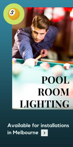 billiard poolroom table lights