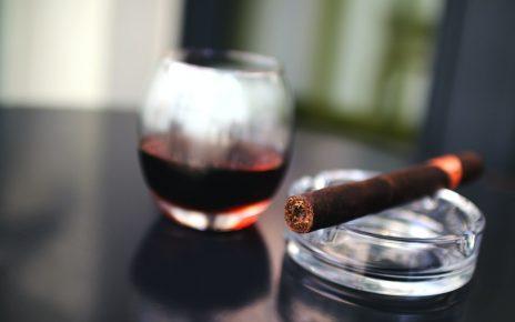 Photo of a Cigar on Ashtray