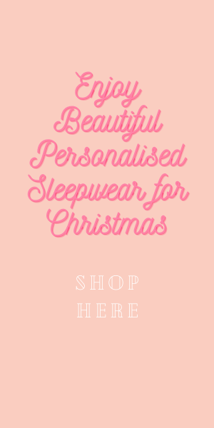 shop beautiful personalised sleepwear
